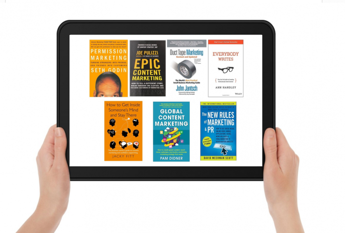 7 content marketing books 2015