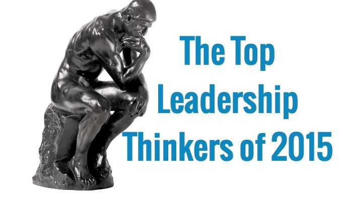 The Top 20 Leadership Thinkers of 2015